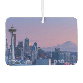 Mount Rainier in the background. Car Air Freshener