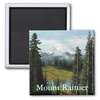 Mount Rainier Landscape Photo Magnet