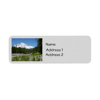 Mount Rainier N.P. (Longmire) Return Address Label