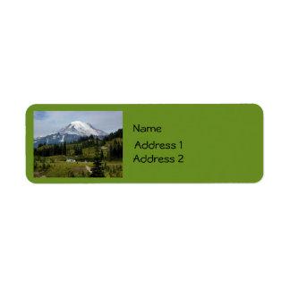Mount Rainier N.P. (Naches Loop) Label