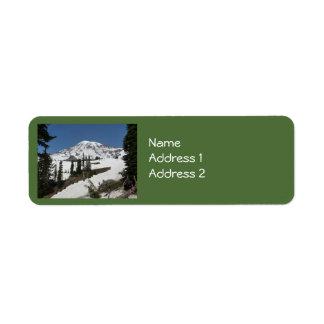 Mount Rainier N.P. (Paradise) Return Address Label