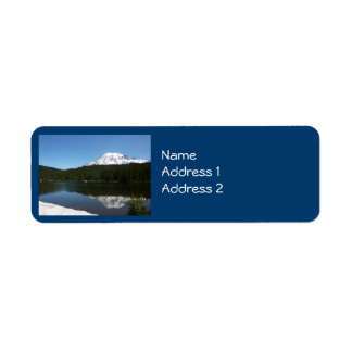 Mount Rainier N.P. (Reflection Lake) Return Address Label