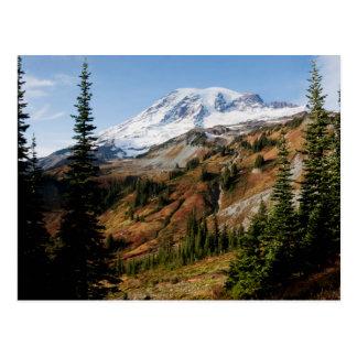 Mount Rainier National Park, autumn Postcard