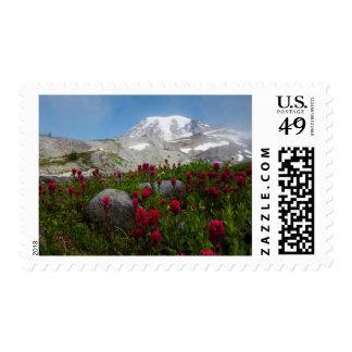Mount Rainier National Park, Mount Rainier 1 Stamp