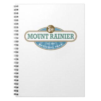 Mount Rainier National Park Note Book