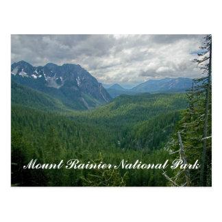 Mount Rainier National Park Postcard
