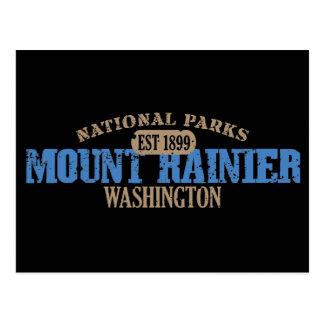 Mount Rainier National Park Postcards