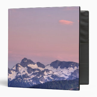 Mount Rainier National Park, Sarvent Glaciers 3 Ring Binders