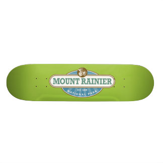 Mount Rainier National Park Skateboard