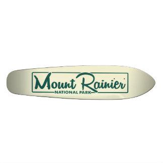 Mount Rainier National Park Skateboard