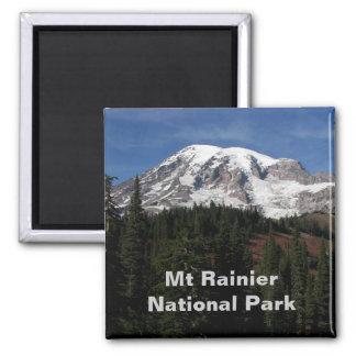 Mount Rainier National Park Travel Photo 2 Inch Square Magnet