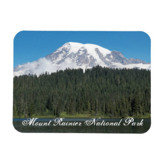 Mount Rainier National Park Travel Photo Magnet