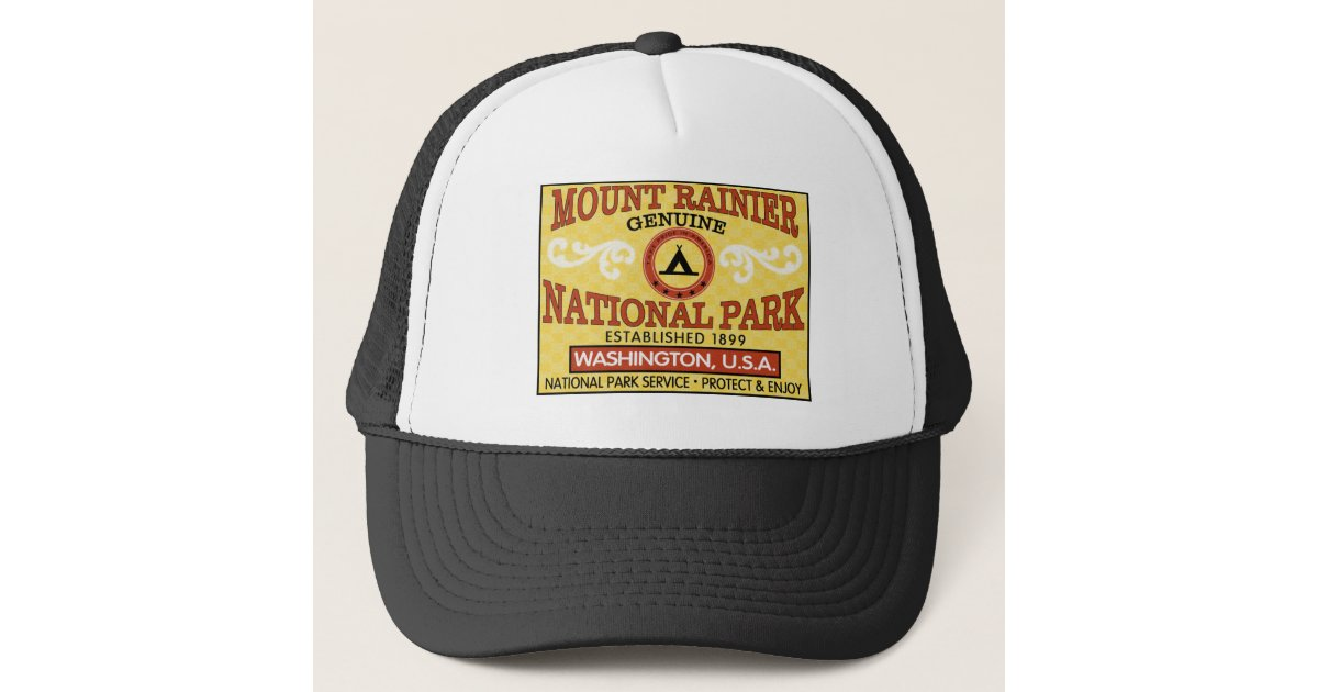 bfe7d9da017 Mount Rainier National Park Trucker Hat