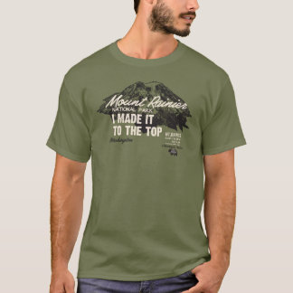 Mount Rainier National Park Washington IMITTT T-Shirt