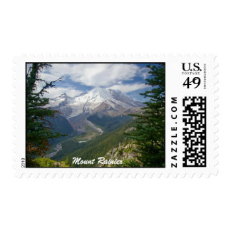 Mount Rainier Postage Stamp