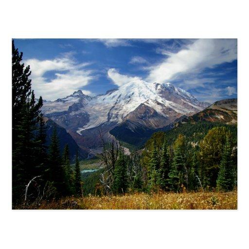 Mount Rainier Post Card