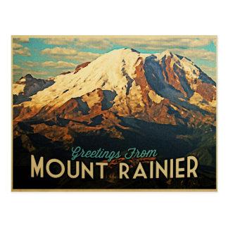 Mount Rainier Postcard