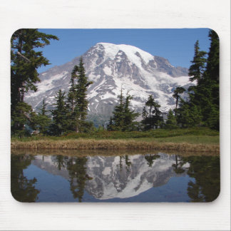 Mount Rainier Reflected in Mountain Lake Mouse Pad