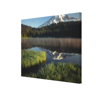 Mount Rainier Reflected in Reflection Lake 2 Canvas Print