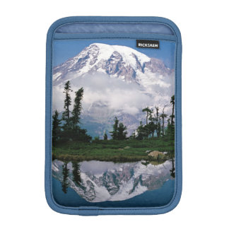 Mount Rainier relected in a mountain tarn iPad Mini Sleeves