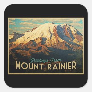 Mount Rainier Stickers