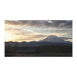 Mount Rainier Sunrise Canvas Print
