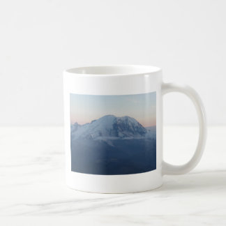 Mount Rainier Sunset Coffee Mug