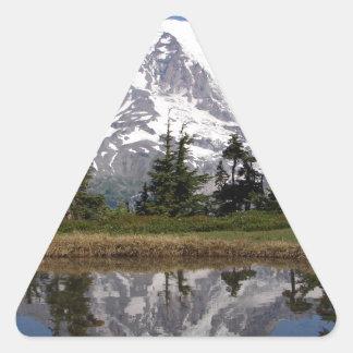 Mount Rainier Triangle Sticker