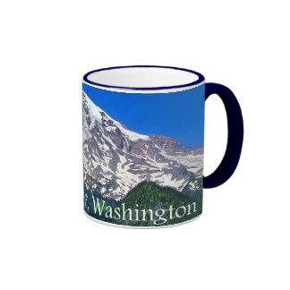 Mount Rainier Viewpoint Ringer Mug