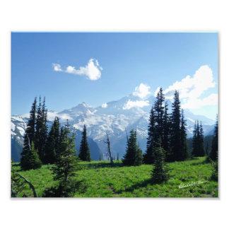 Mount Rainier, Washington #0403 Photo Print