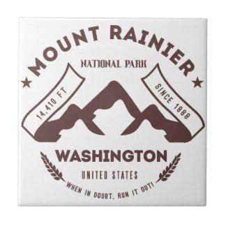 Mount Rainier Washington Tiles