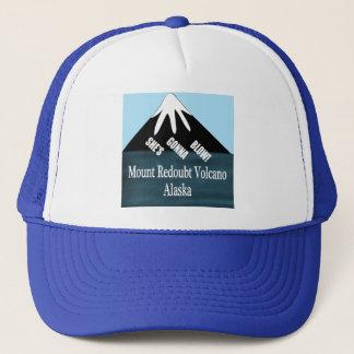 Mount Redoubt Volcano T-Shirts Trucker Hat