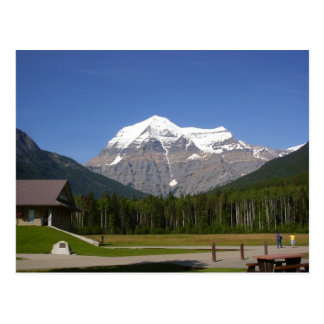 Mount Robson, Canada Postcard