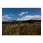 Mount Ruapehu Card