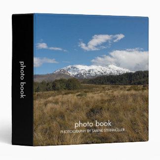 Mount Ruapehu Photo Book Binder