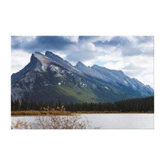 Mount Rundle, Banff National Park Canvas Print