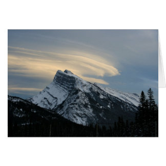 Mount Rundle Card