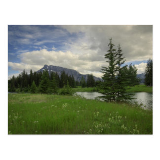 Mount Rundle from Cascade Ponds Postcard
