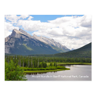 Mount Rundle in Banff National Park, Canada Postcard
