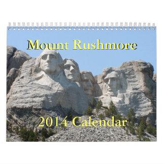 Mount Rushmore 2014 Calendar