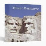 Mount Rushmore 3 Ring Binders