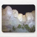 Mount Rushmore After Dark Mousepads