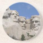 Mount Rushmore Beverage Coaster