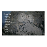 Mount Rushmore, Black Hills, South Dakota, USA Double-Sided Standard Business Cards (Pack Of 100)