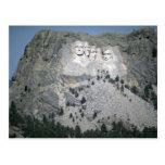 Mount Rushmore, Black Hills, South Dakota, USA Postcard