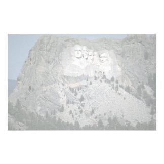 Mount Rushmore, Black Hills, South Dakota, USA Stationery Design