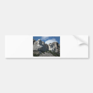Mount Rushmore Bumper Sticker