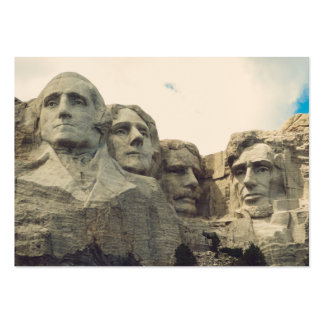 Mount Rushmore Business Card Template