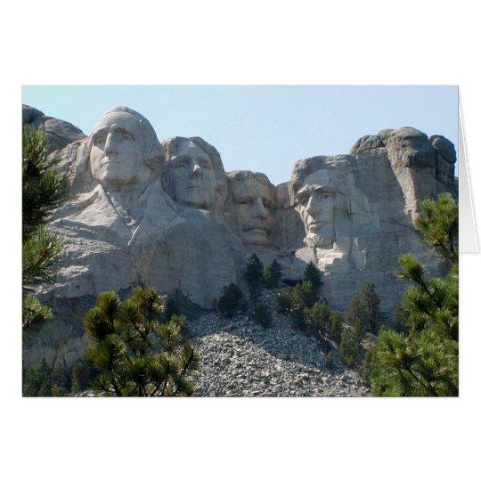 Mount Rushmore Card