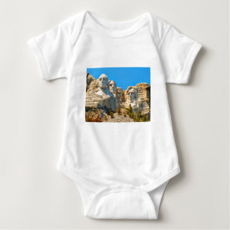 Mount Rushmore Classic View Baby Bodysuit